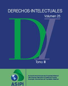 Derechos Intelectuales 25, tomo III