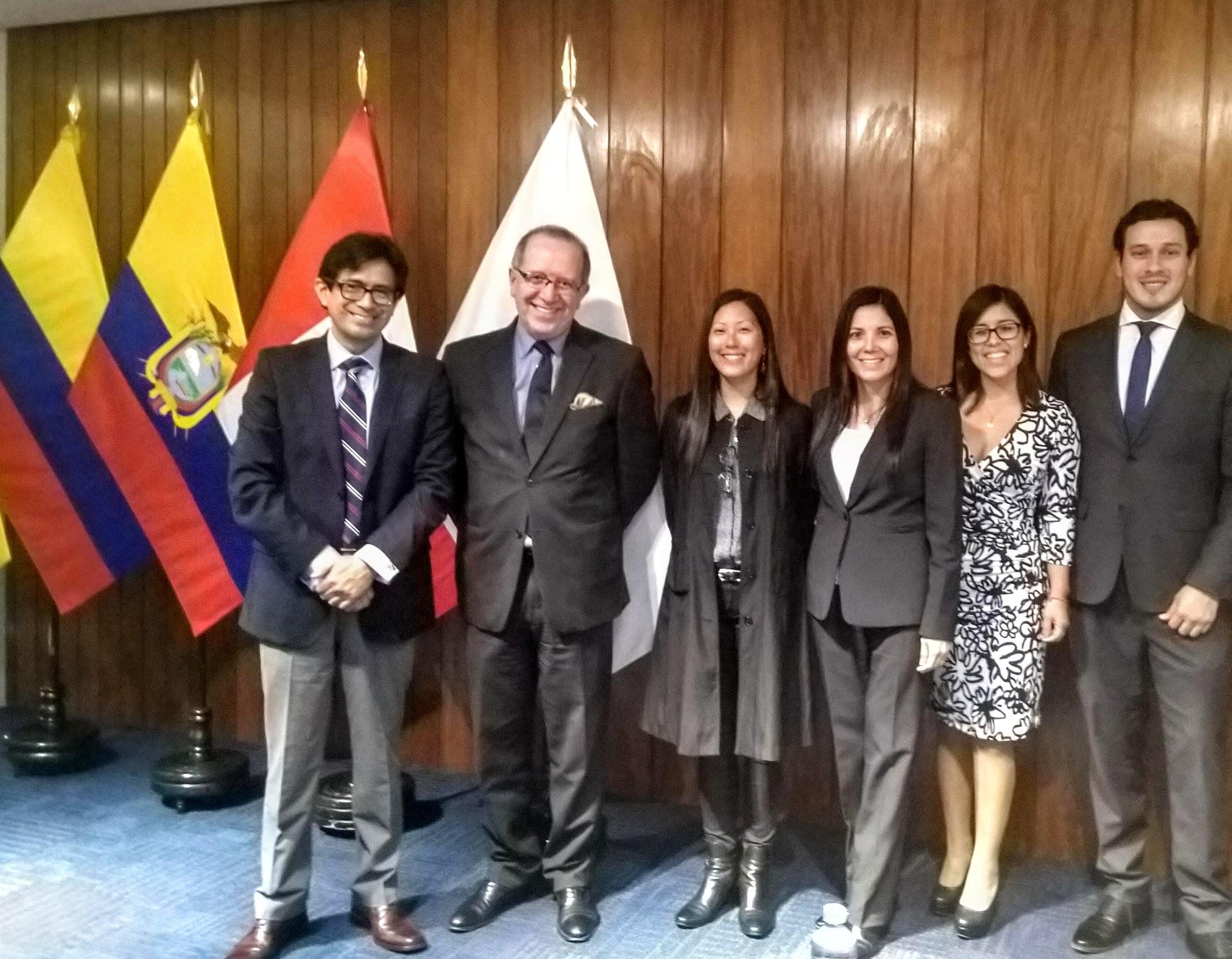 Seminario: Solución de Controversias y Propiedad Intelectual en la Comunidad Andina en Perú