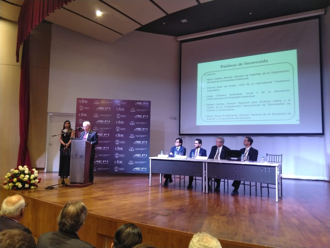 "II International Seminar on Intellectual Property ""Challenges in the Context of the Andean Integration Process"" in Quito"